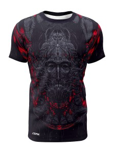 T-shirt męski BLACK TREANT