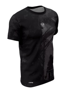 T-shirt FIRE BLACK
