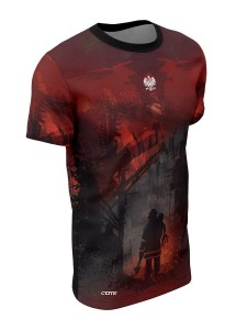 T-shirt FIRE RED