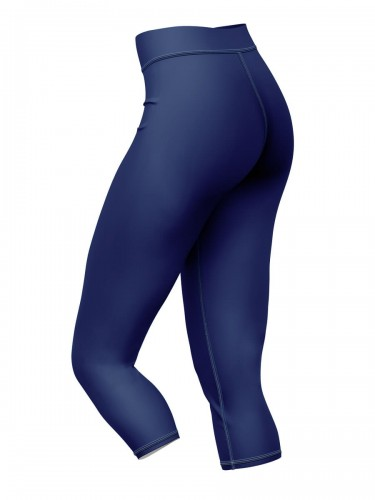 Navy Blue legginsy 3/4 bok
